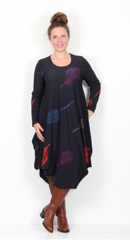 Ralston Utas Leaf Dress Midnight