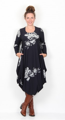 Ralston Utas Rose Dress Midnight