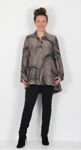 Ralston Wally Swirl Shirt Pewter