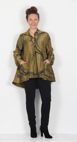 Ralston Wally Swirl Shirt Gold