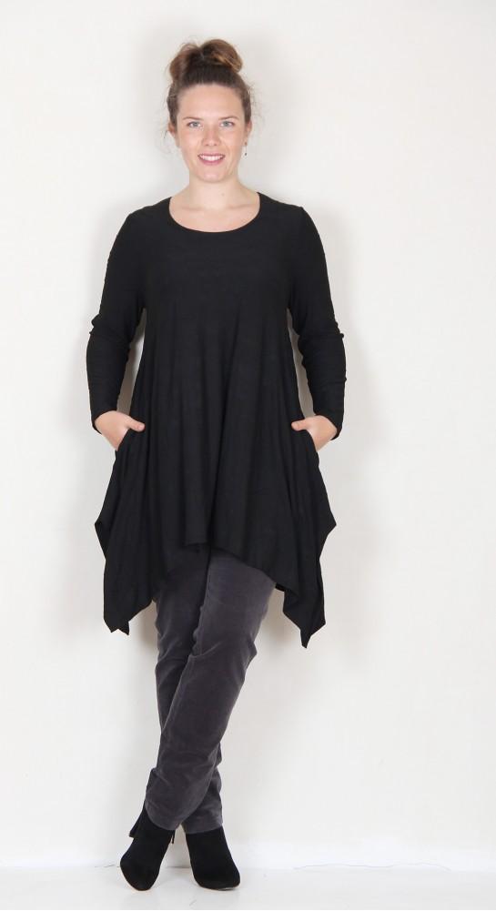 Ralston Sveta Tunic Dress Black