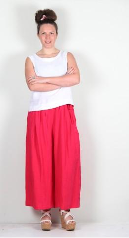 Ralston Zumak Culotte Hot Pink
