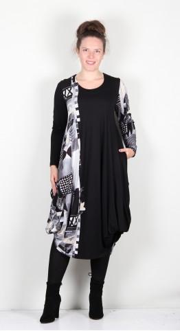 Ralston Utas  Dress Black/Silver