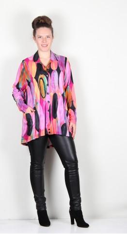 Ralston Wally Shirt/Jacket Abstract Bubblegum
