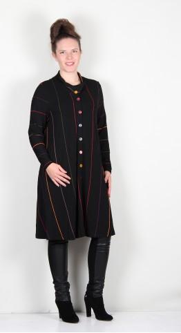 Ralston Kemal Shirt/Jacket Black/Spice Stripe