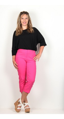 Robell Trousers Marie 07 Capri Pink