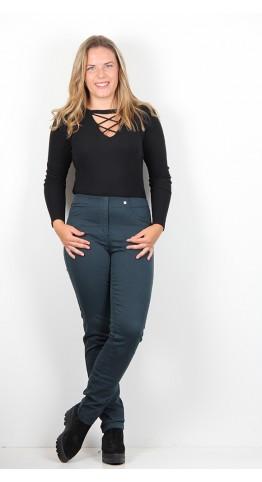 Robell Trousers Bella Slim Fit Jean Jade