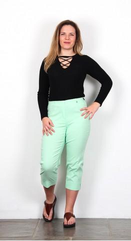 Robell Trousers Marie 07  Capri Mint