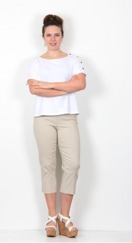 Robell Trousers Marie 07 Capri Beige