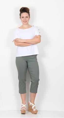 Robell Trousers Marie 07 Capri Jade
