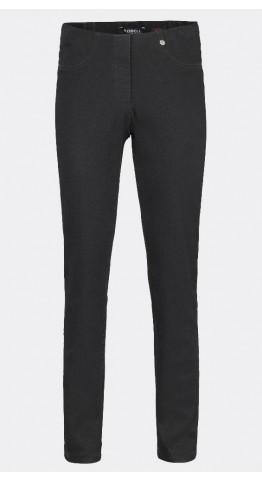 Robell Trousers Bella Full Length Jean Black
