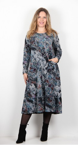 Sahara Clothing Butterfly Jersey Dress