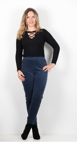 Sahara Clothing Moleskin Slim Trouser Kingfisher