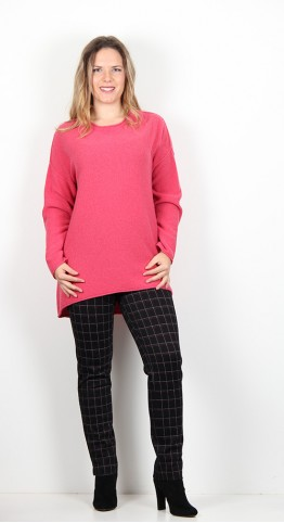 Sahara Clothing Honeycomb Knit  Geranium