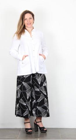 Sahara Clothing Seersucker Check Shirt White