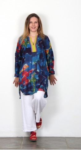 Sahara Clothing Brushstroke Tunic