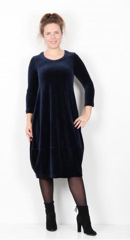 Sahara Clothing Velvet Jersey Bubble Dress Night