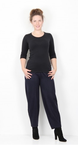 Sahara Clothing Double Jersey Bubble Trouser Night