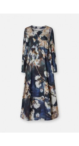 Sahara Clothing Japanese Blossom Print Dress