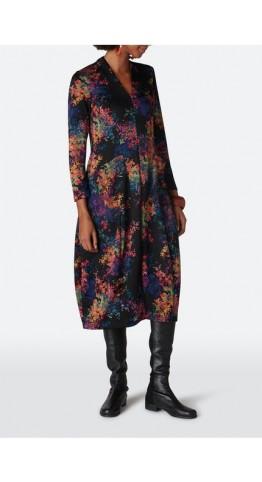 Sahara Clothing Colourful Spot Jersey Dress Multi