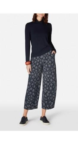 Sahara Clothing Circle Jersey Bubble Trouser Night/Chalk