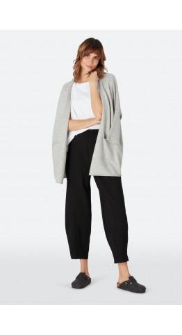 Sahara Clothing Ponte Bubble Trouser Black
