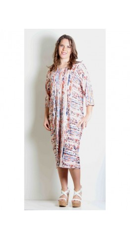 Sahara Clothing Lava Jersey Dress