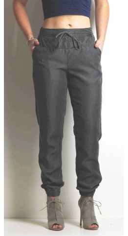 Sandwich Clothing Denim Trousers Grey