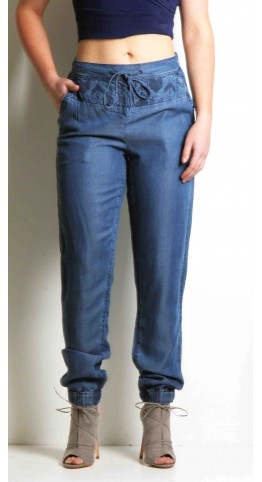 Sandwich Clothing Denim Trousers Blue