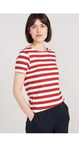 Seasalt Clothing Sailor T-Shirt Cornish Jam Chalk