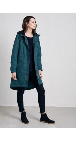 Seasalt Clothing Plant Hunter Coat Lino Berry