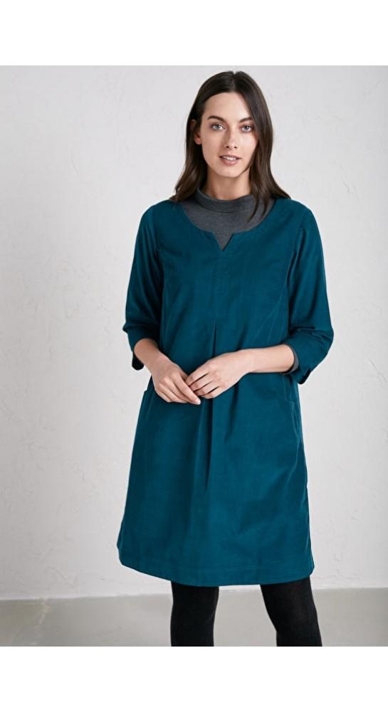 Seasalt Clothing Kestle Barton Dress DarkTeal