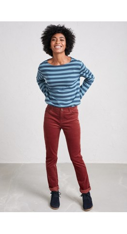 Seasalt Clothing Lamledra Trousers Conker