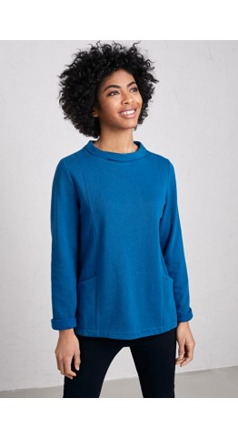 Seasalt Clothing Bareroot Sweatshirt Waterfront