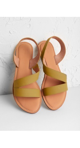 Seasalt Clothing Sun Terrace Sandal Pear