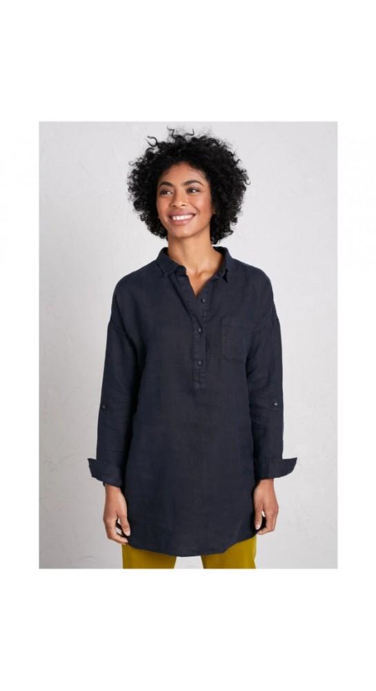 Seasalt Clothing Nicky Berry Shirt Dark Night