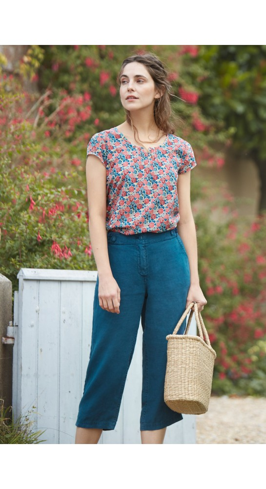 Seasalt Clothing Garden Gate Top Rose Garden Mix