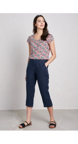 Seasalt Clothing Brawn Point Crops Midnight