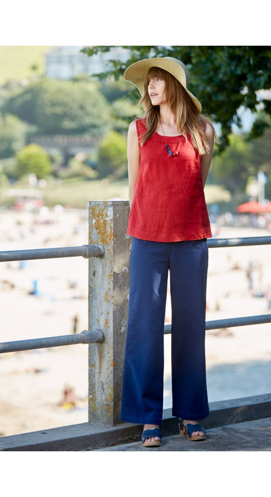 Seasalt Clothing Mountboard Top Fireglow