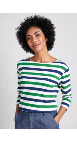 Seasalt Clothing Sailor Top Duet Cornish Hedgerow