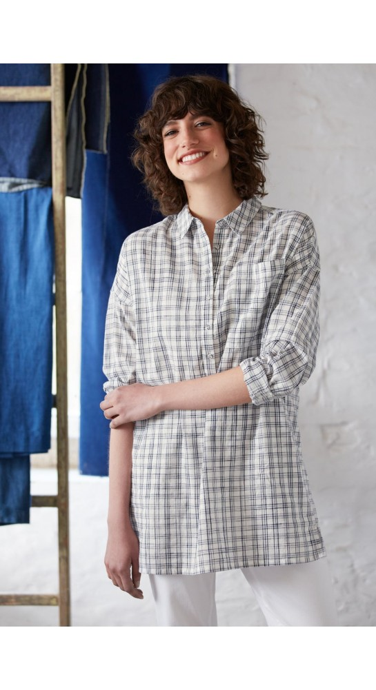 Seasalt Clothing Arts And Crafts Shirt Hachure Harbour