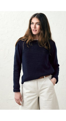 Seasalt Clothing Reel Jumper Indigo