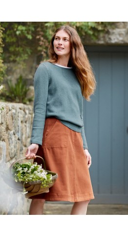 Seasalt Clothing Fillial Jumper Lichen