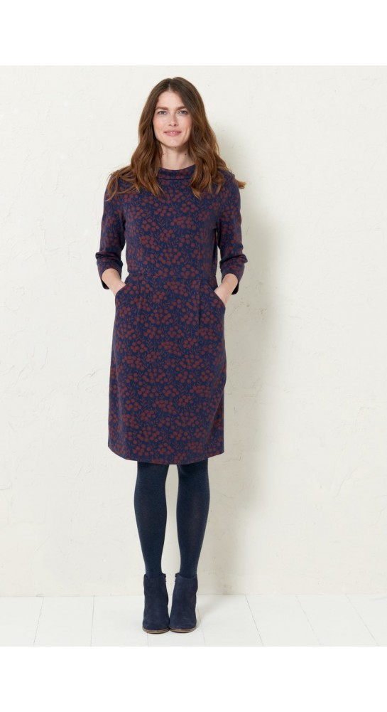 Seasalt Clothing Cleats Dress Tansies Conker