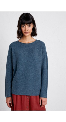 Seasalt Clothing Fruity Jumper II Monty Blue