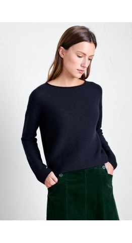 Seasalt Clothing Fruity Jumper II Dark Night