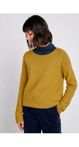 Seasalt Clothing Fruity Jumper II Tansy