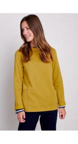 Seasalt Clothing Bareroot Sweatshirt Tansy
