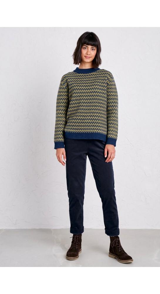 Seasalt Clothing Crackington Trousers Quay