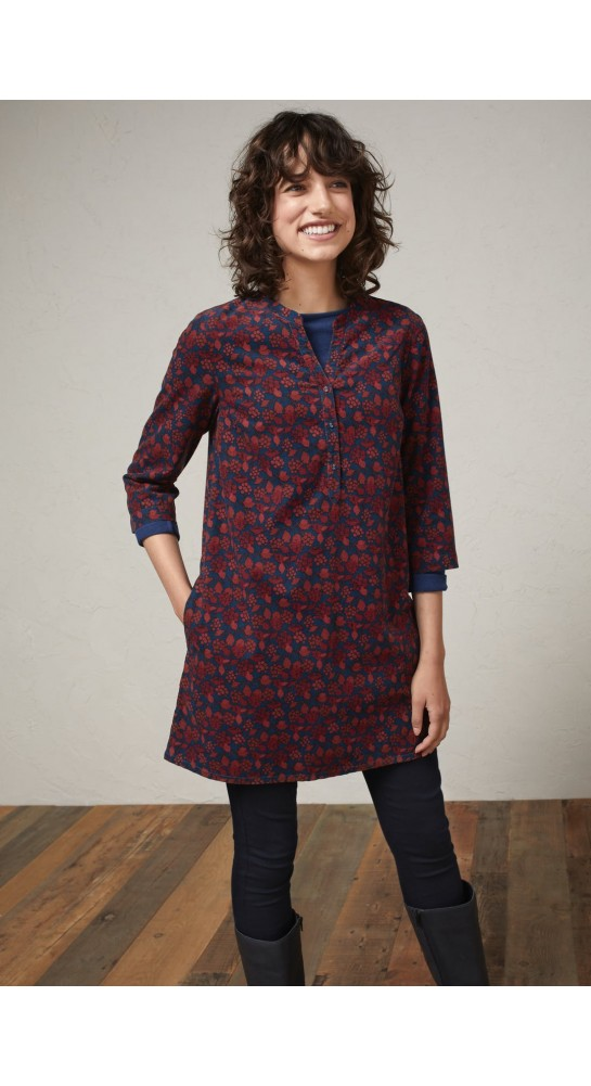Seasalt Clothing South Terrace Tunic Burnished Berries Copper
